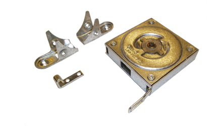 Technický výkres - Pružiny s konstantní silou v kovovém pouzdru