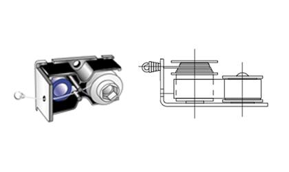 Technický výkres - Buben na navíjení drátu